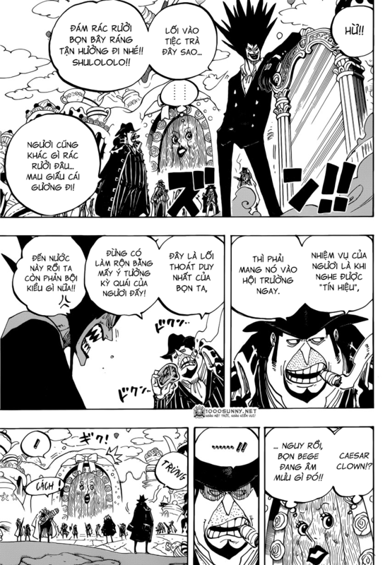 One Piece Chapter 861: Diễn sâu 09_copy