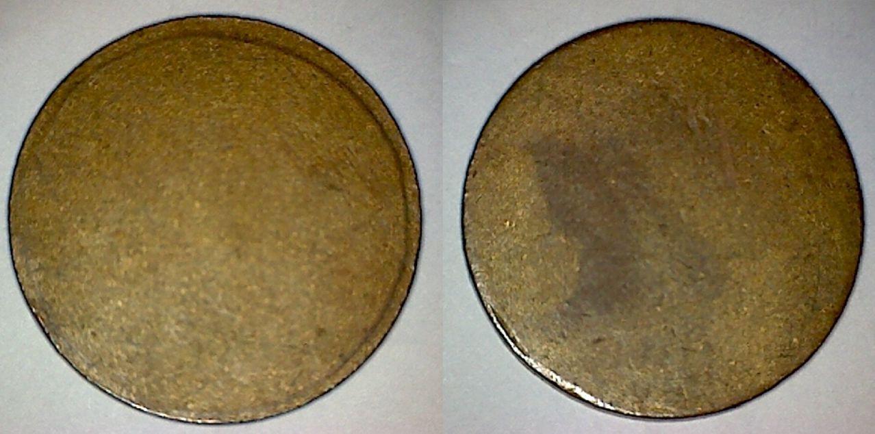 Cospel de latón que se uso para acuñar las monedas de 25 céntimos de Ibi 18_copia