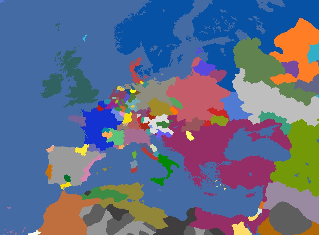 "MP-""Europa Divisa"" 1638"