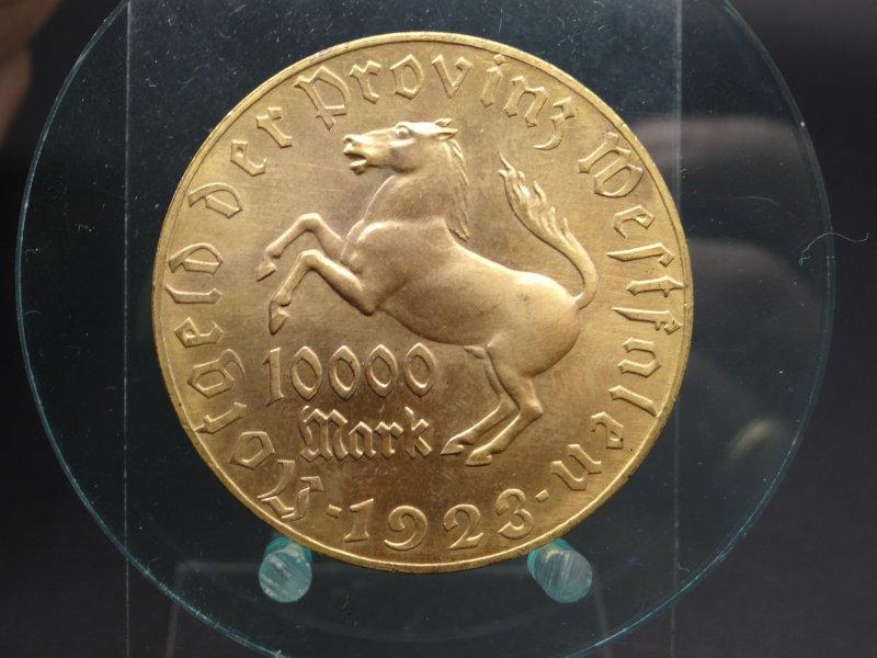 Monedas de emergencia emitidas por el banco regional de Westphalia 127d5a54bf3a34606fb5a51d97e249940