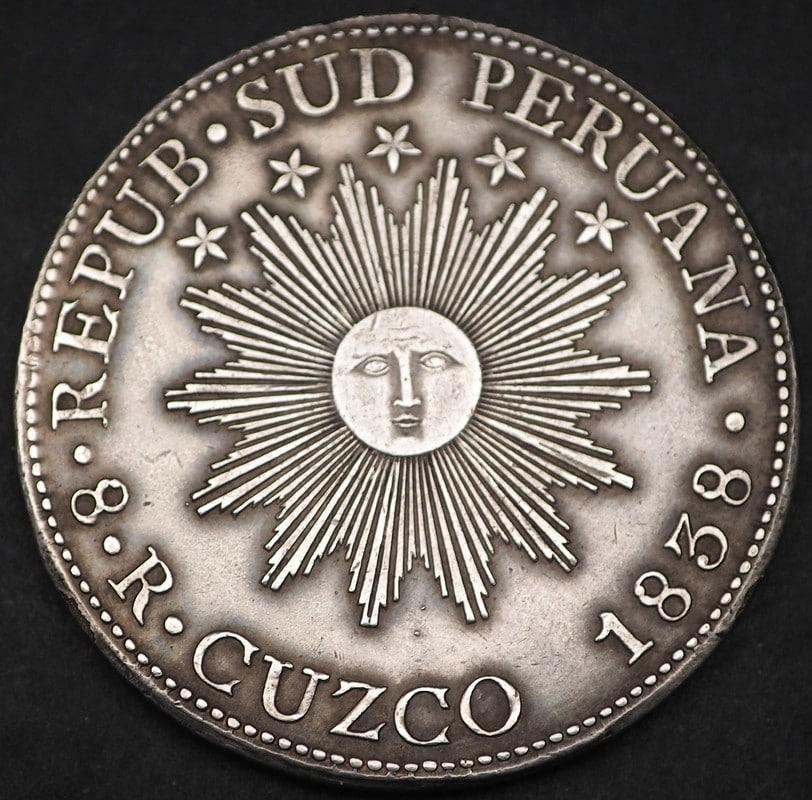 8 reales República Sud Peruana (Cuzco-1838). P8270075