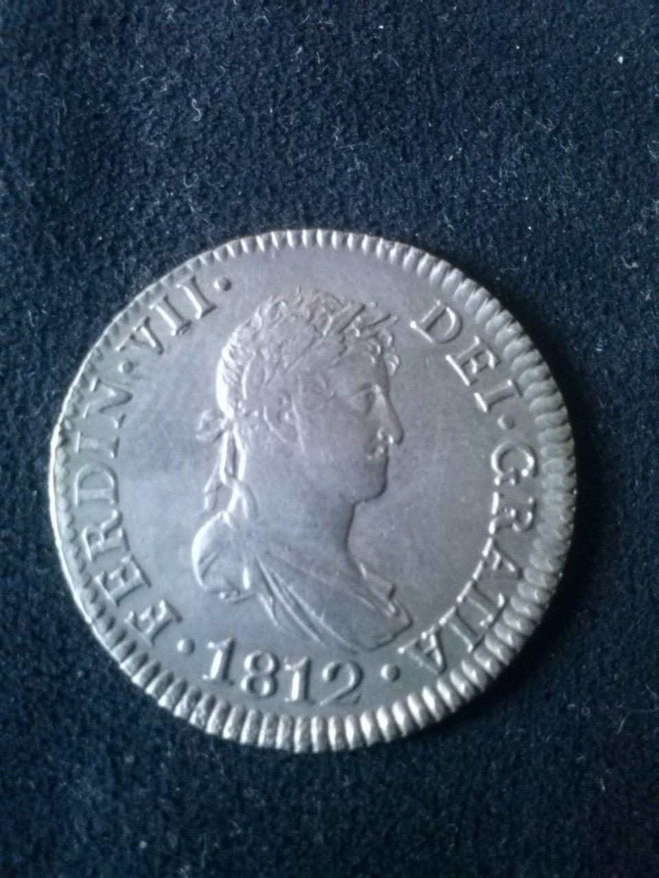 2 reales 1812  FVII Cadiz CI CAM00466