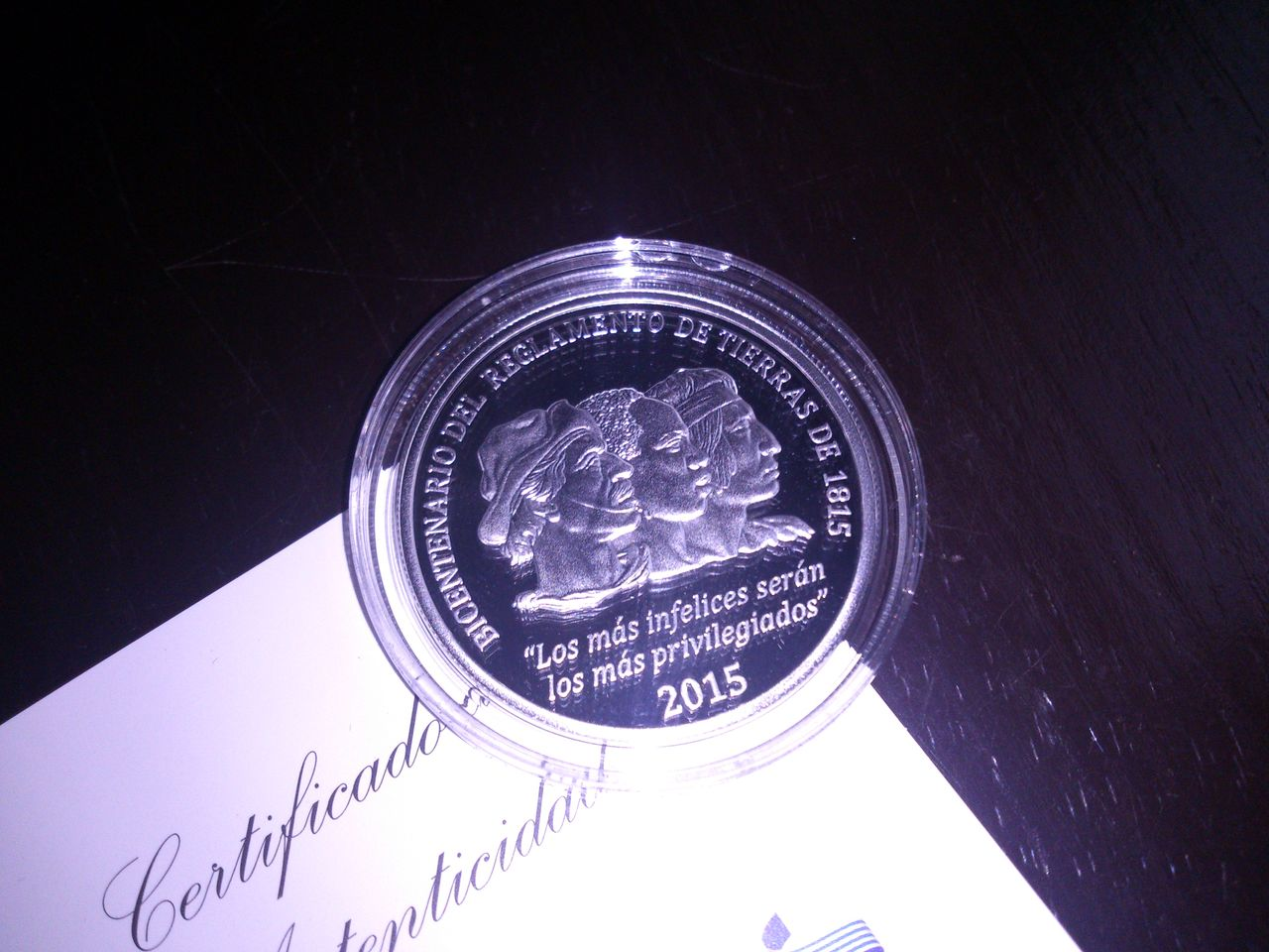 Monedas conmemorativas de Uruguay acuñadas en plata 1961 - Presente. DSC_8958