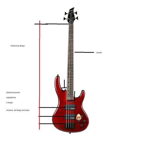 medidas de instrumentos  Baixo