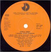 Zorica Minic - Diskografija 1984_z1