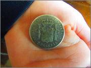Alfonso  12  - 2 pesetas - 1882 - Moneda P2290070