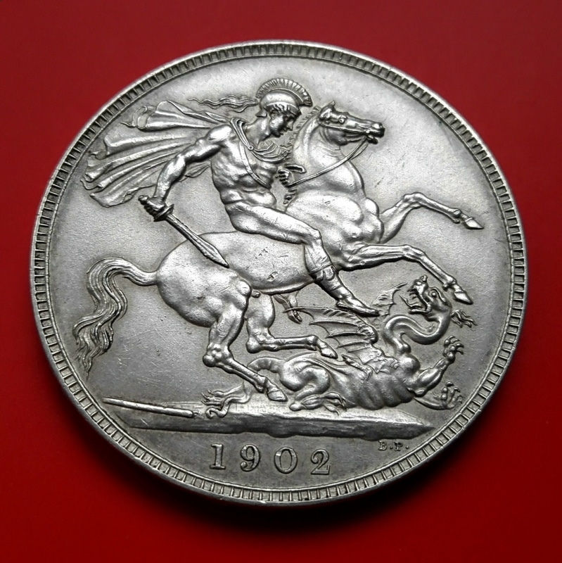 1 corona 1902. Gran Bretaña, eduardo VII (dedicado a zorro_rojo) Corona_1902_7