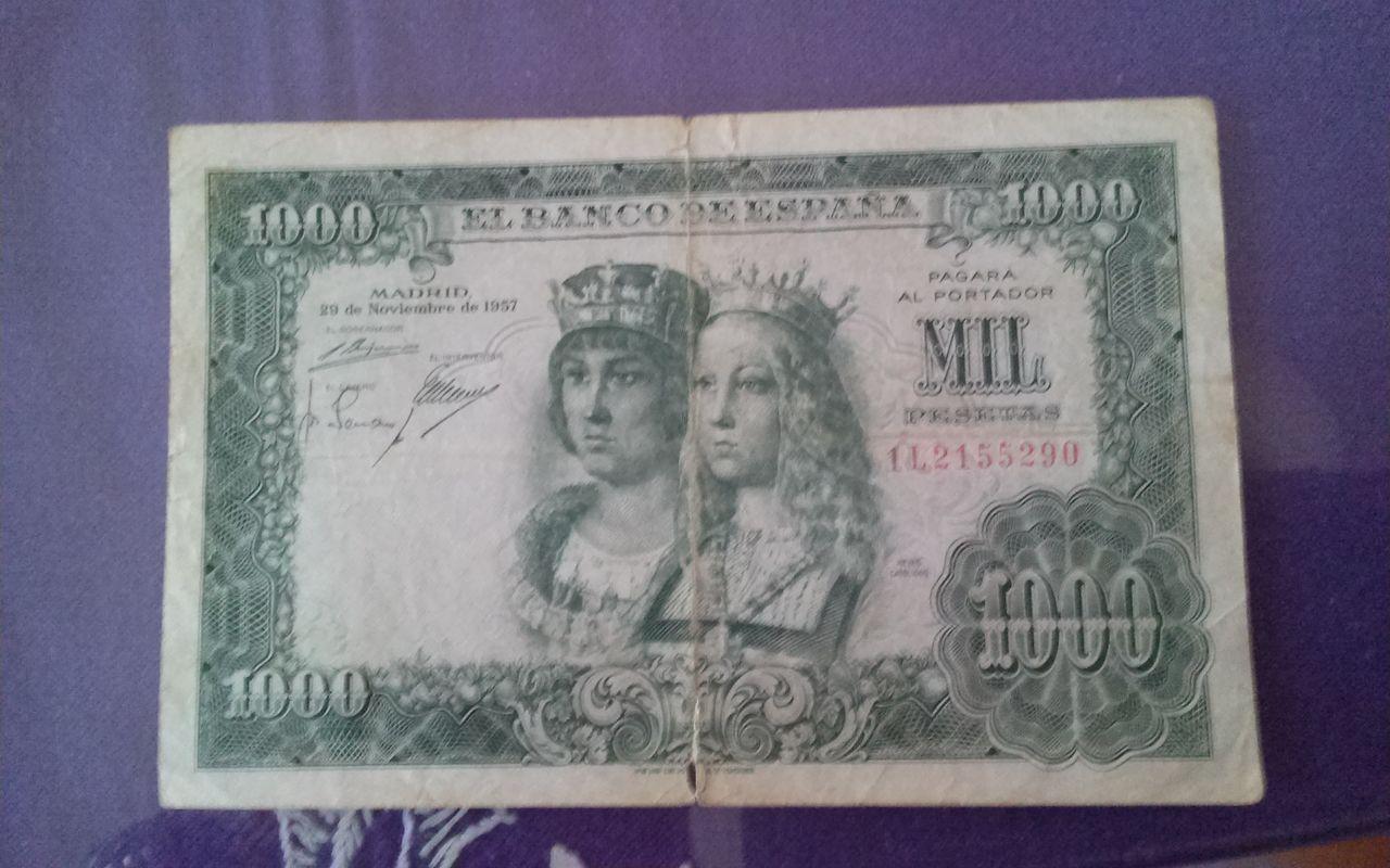 1000 pesetas de 1957 1411055942006