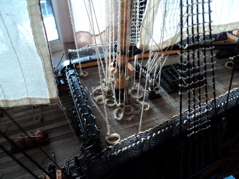 constitution - Lavori terminati, USS Constitution, Soleil Royal, HMS.Victory. DSC04536