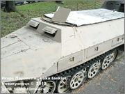 Немецкий средний полугусеничный бронетранспортер SdKfz 251/1 Ausf D, Музей Войска Польского, г.Варшава, Польша.  Sd_Kfz_251_107