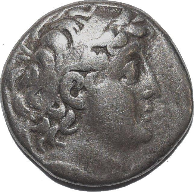 Demetrio II Nicátor Didracma. Ceca Tiro. Dinastía Seléucida. 243