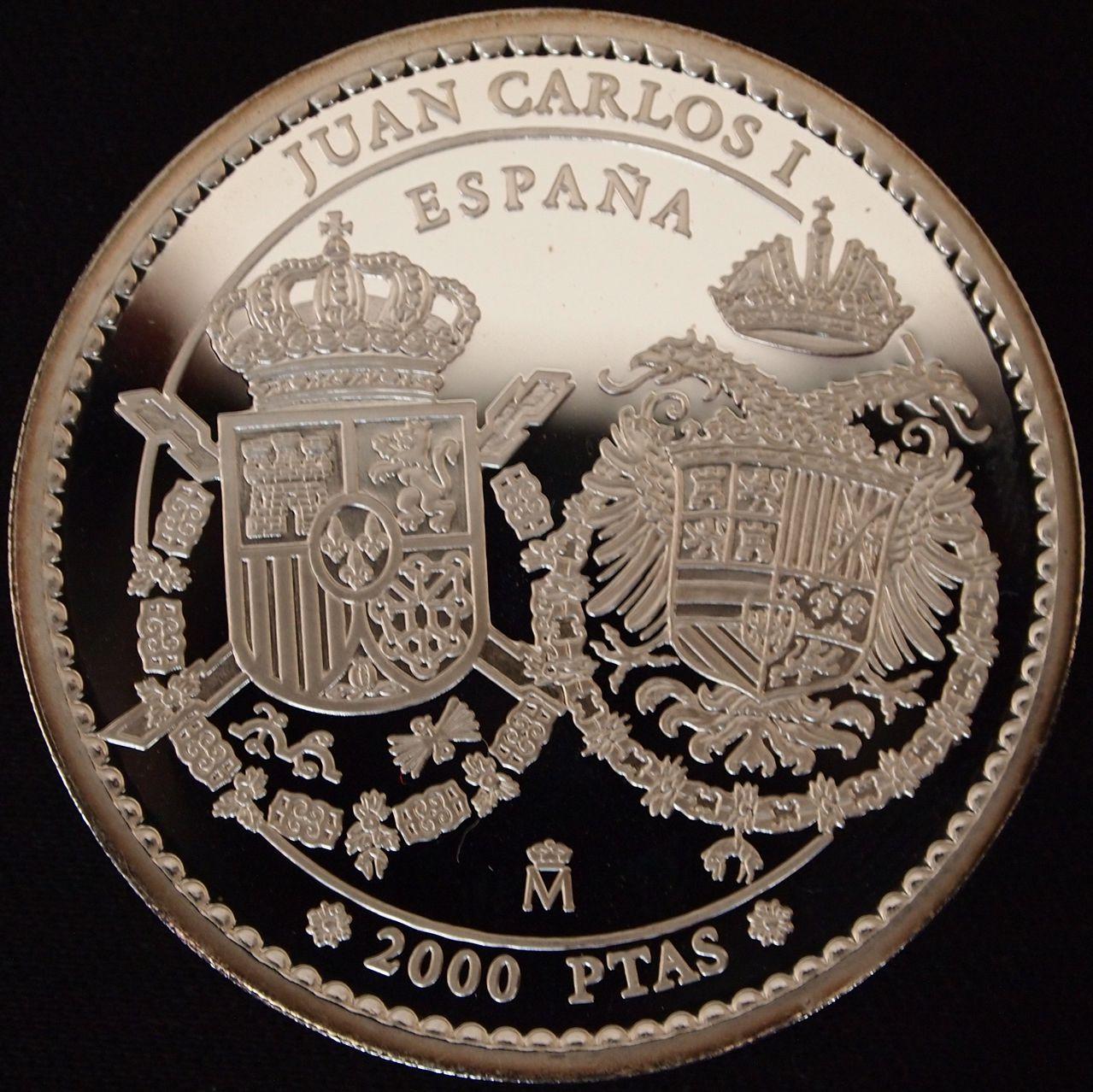 2000 pesetas España año 2000 2