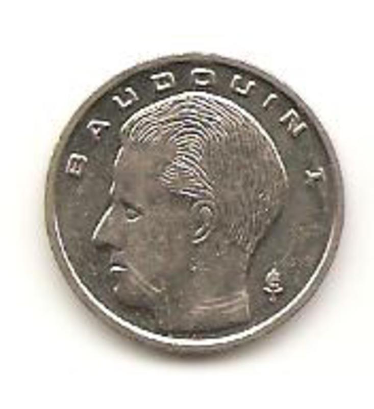 Bélgica 1 franco de 1991 Image