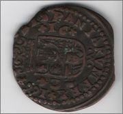 16 maravedis 1664 Felipe IV Cordoba  opinion Cordoba1