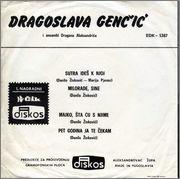 Dragoslava Gencic - Diskografija  1971_1_z