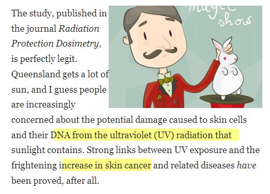Barbe Protége la Peau vs cancer et U.V Image