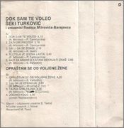 Seki Turkovic - Diskografija 1982_Kb