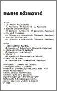 Haris Dzinovic  - Diskografija  Haris_Dzinovic_1989_kz