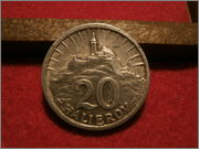 20 Halierov. ESLOVAQUIA. 1943  P9110030