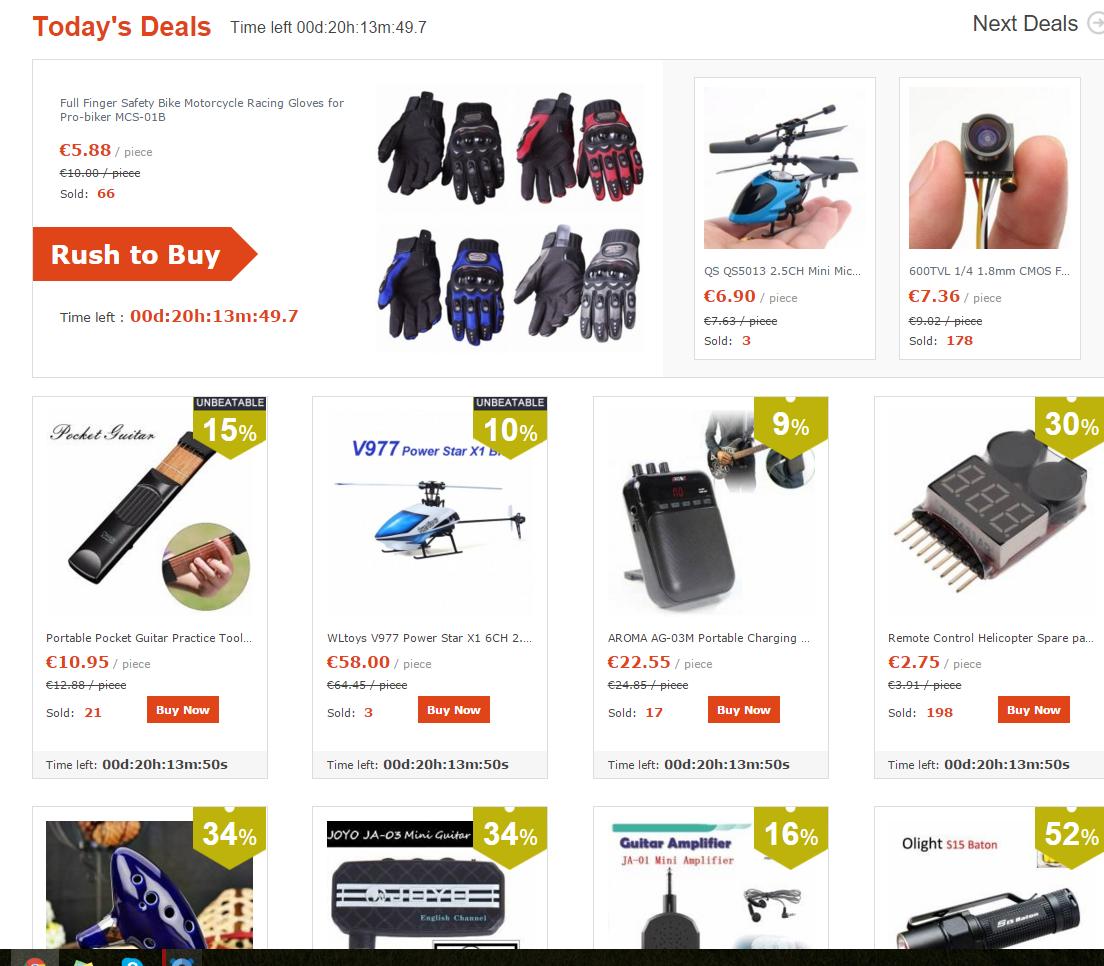 OPORTUNIDADE  [Provado] Banggood - Comprar na China é SEGURO, BARATO E RÁPIDO! (Armazém na Europa) - Página 3 Flash_deals
