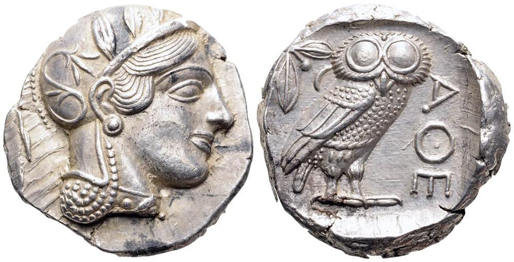 Tetradracma ático. Atenas. 449-413 a.C. Enl_tetra