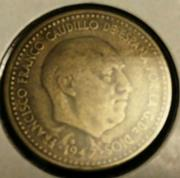 1 peseta 1947 (*19-54). Estado Español Franco_1