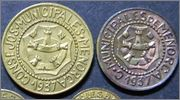 ¿Cuántas monedas componen la serie de Menorca completa? Menorca_bronce_anverso_1