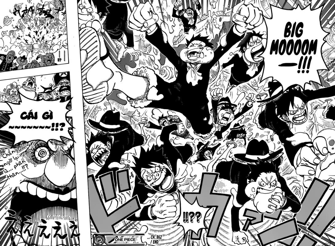 One Piece Chapter 862: Phe sử dụng đầu óc 16-17