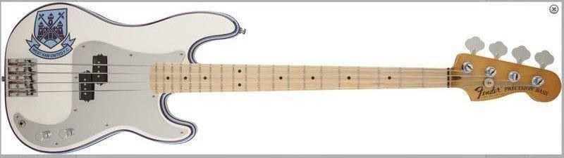 Novo Fender Steve Harris Precision Bass® - Para aqueles que curtem. Harris