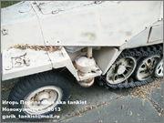 Немецкий средний полугусеничный бронетранспортер SdKfz 251/1 Ausf D, Музей Войска Польского, г.Варшава, Польша.  Sd_Kfz_251_106