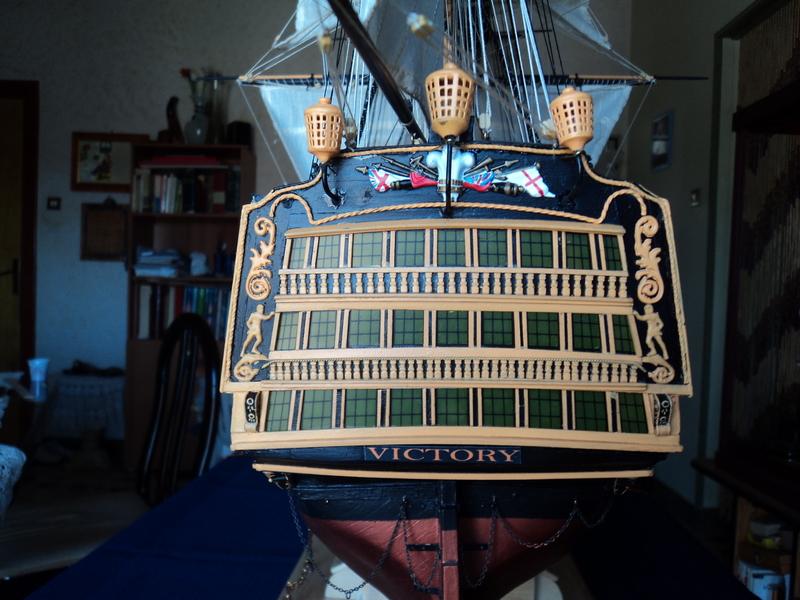 constitution - Lavori terminati, USS Constitution, Soleil Royal, HMS.Victory. DSC04704