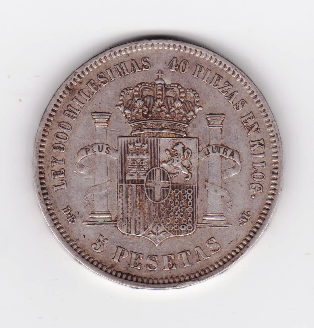 5 pesetas 1871 *75, Amadeo I 5_pesetas_1871_75_001