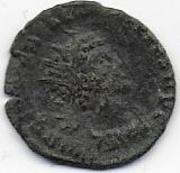 Antoniniano de Quintillo. LAETITIA AVG. Laetitia estante a izq. Ceca Roma. Scan2_0002