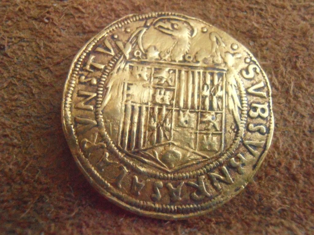 Doble Excelente a nombre de los Reyes Católicos, Sevilla (para Lanzarote). P9040002