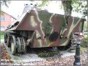 "Немецкий тяжелый танк PzKpfw V Ausf.G  ""Panther"",  rue D'Erezee, Manhay, Belgique Panther_Manhay_061"