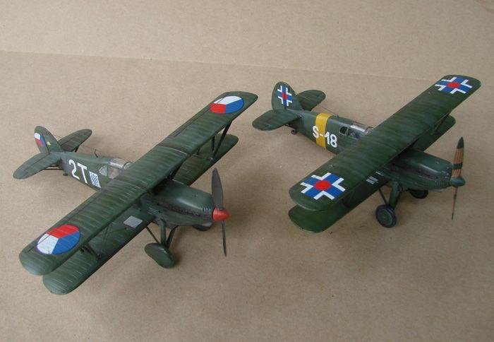 Avia B-534 serieIV., KP i RSmodels, 1/72 DSC00159