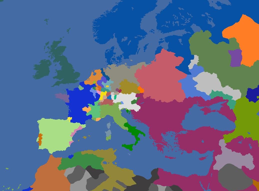 "MP-""Europa Divisa"" 1697"