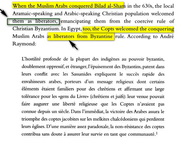 conquéte musulmane et libération des peuples Bilad el-Cham( Syrie+Palestine) Image