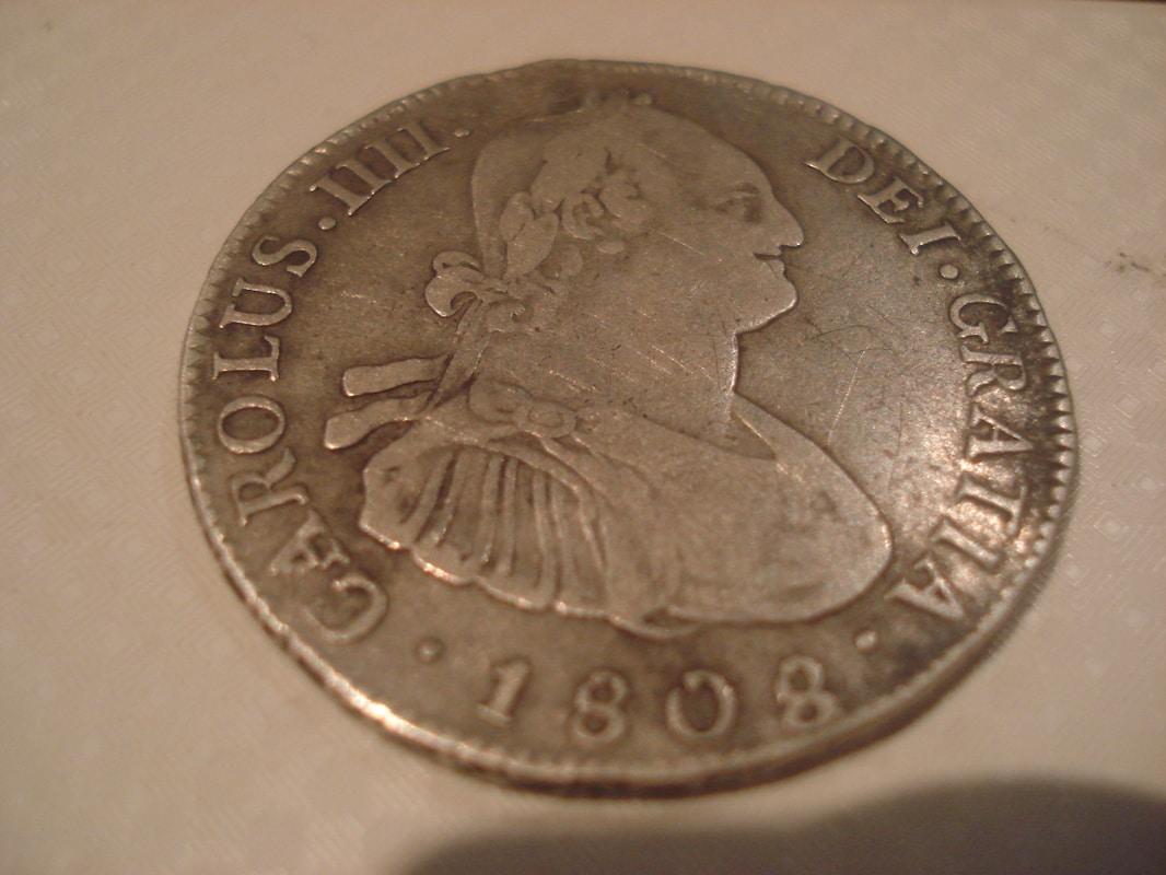 4 reales 1808. Carlos IV. Potosí Otras_005