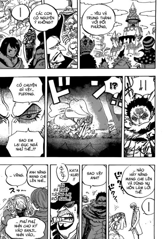 One Piece Chapter 862: Phe sử dụng đầu óc 09.1