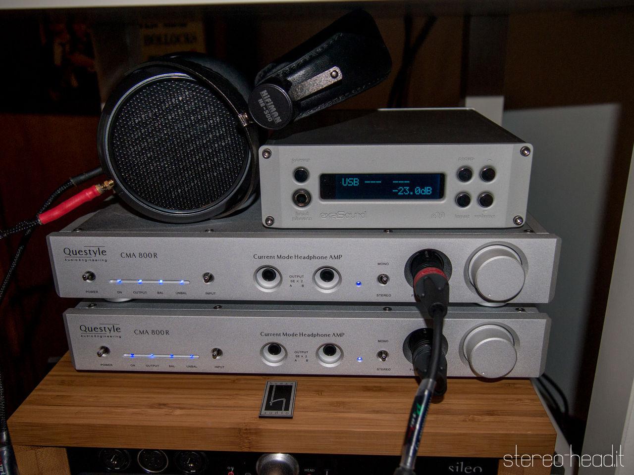 Questyle CMA800R: l'amplificatore in corrente - Prova - Pagina 2 P3054916