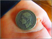 Alfonso  12  - 2 pesetas - 1882 - Moneda P2290069