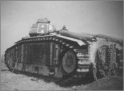 Камуфляж французских танков B1  и B1 bis Char_B1bis_45_Charente
