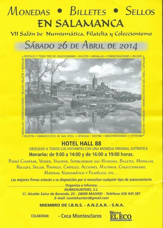 7 salón numismática en Salamanca Scan