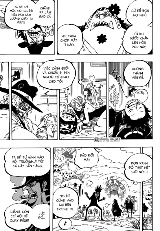 One Piece Chapter 861: Diễn sâu 11_copy