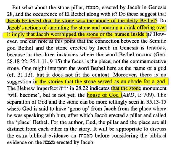 Jacob et Idolatrie Bethel Image