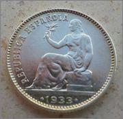 1 peseta 1933 *3*4. II República. 20130407_123116_1