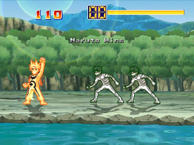 Zetsu Invasion (Bonus game) Naruto