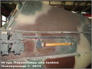 """Немецкая тяжелая САУ  """"JagdPanther""""  Ausf G, SdKfz 173, Deutsches Panzermuseum, Munster Jagdpanther_Munster_097"""