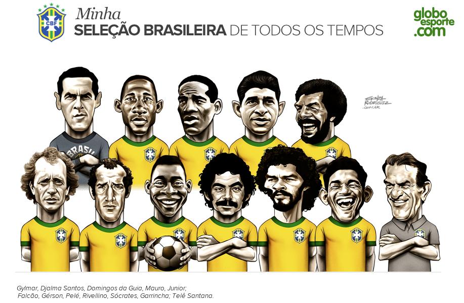 Minha Seleção Brasileira de Todos os Tempos. Selecao_2